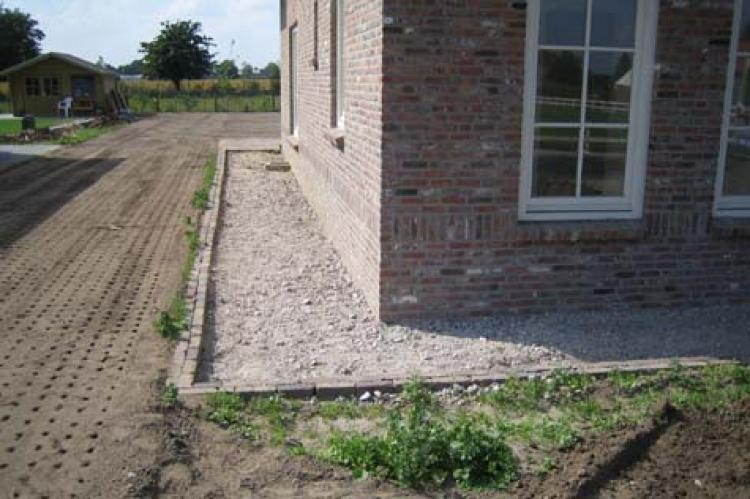 Hemelwaterafvoer vakfederatie rietdekkers - Lay outs rond het huis ...
